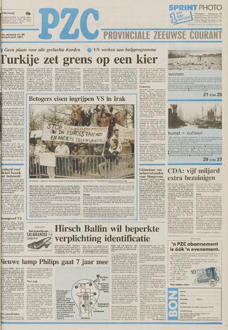 Provinciale Zeeuwse Courant 1991-04-05