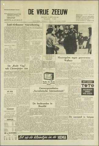 de Vrije Zeeuw 1963-09-11