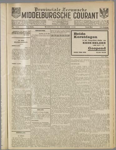 Middelburgsche Courant 1930-12-24