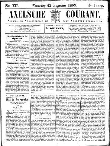 Axelsche Courant 1893-08-23