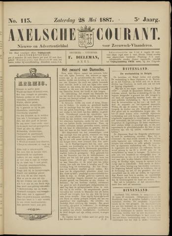 Axelsche Courant 1887-05-28