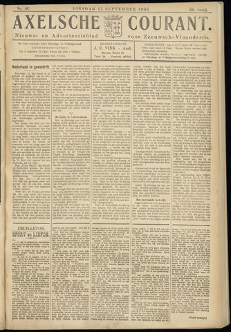 Axelsche Courant 1936-09-15