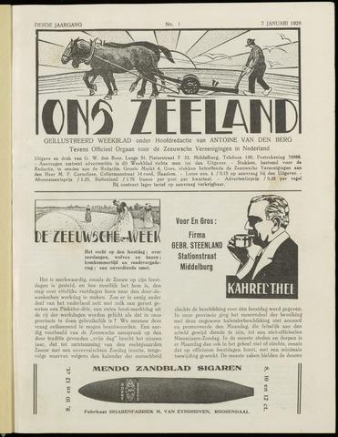 Ons Zeeland / Zeeuwsche editie 1928-01-07