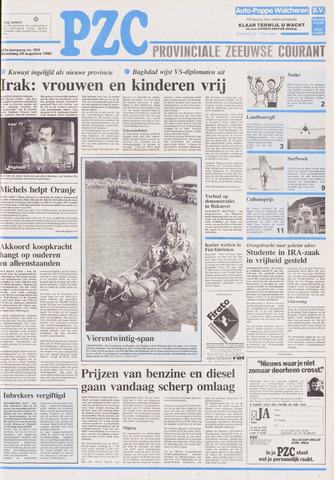 Provinciale Zeeuwse Courant 1990-08-29