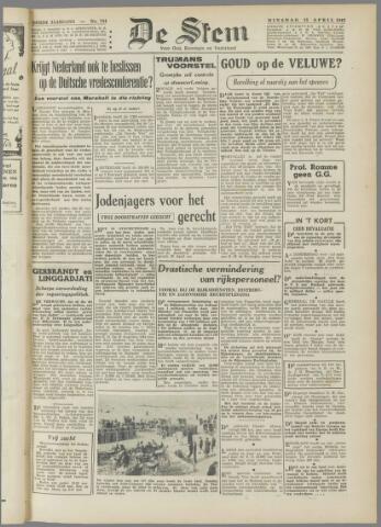 de Stem 1947-04-15