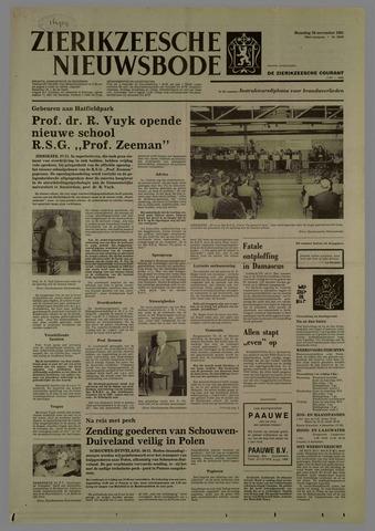 Zierikzeesche Nieuwsbode 1981-11-30