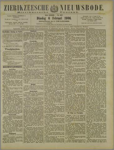 Zierikzeesche Nieuwsbode 1906-02-06