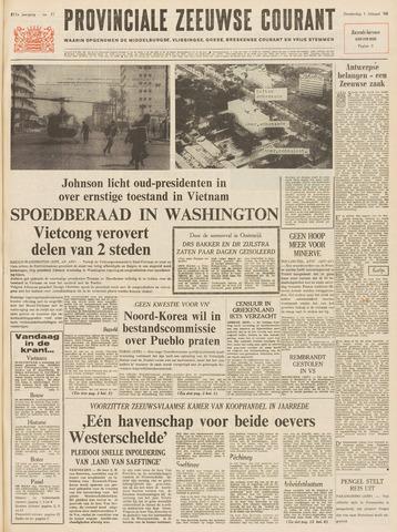 Provinciale Zeeuwse Courant 1968-02-01