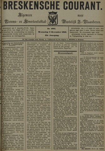 Breskensche Courant 1913-12-03