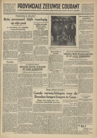 Provinciale Zeeuwse Courant 1951-07-05