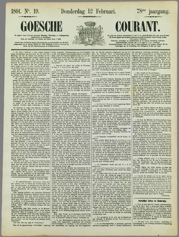 Goessche Courant 1891-02-12