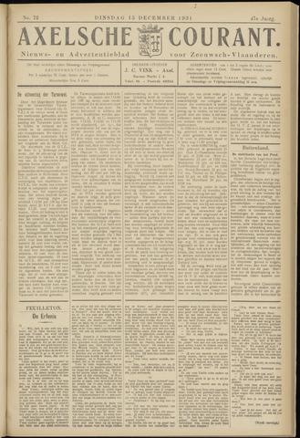 Axelsche Courant 1931-12-15