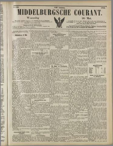 Middelburgsche Courant 1903-05-20