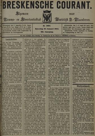 Breskensche Courant 1914-01-31