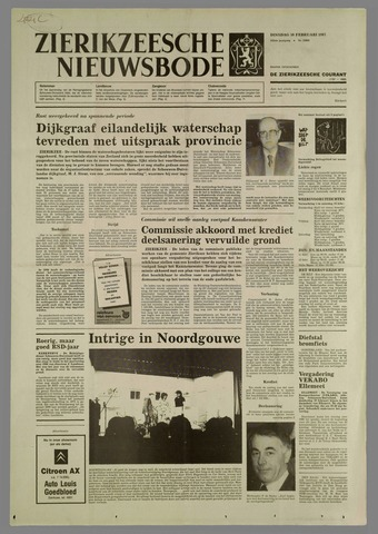 Zierikzeesche Nieuwsbode 1987-02-10