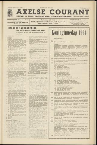 Axelsche Courant 1964-04-25