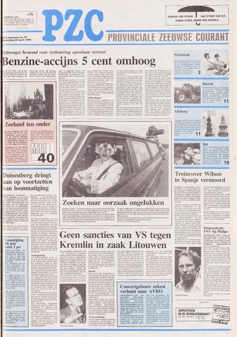 Provinciale Zeeuwse Courant 1990-04-25