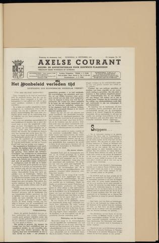 Axelsche Courant 1953-09-30