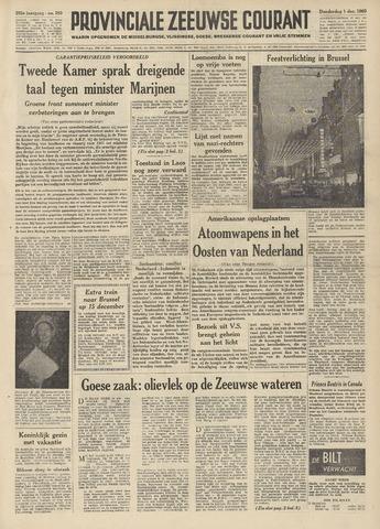 Provinciale Zeeuwse Courant 1960-12-01