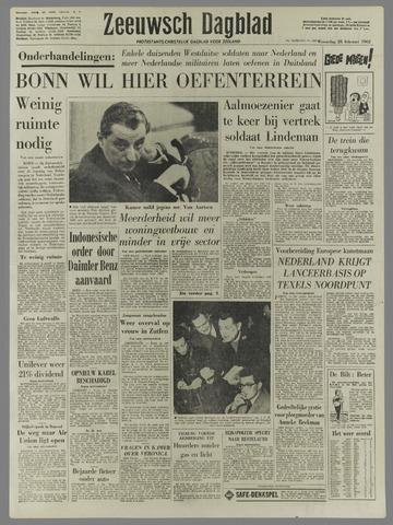 Zeeuwsch Dagblad 1962-02-28