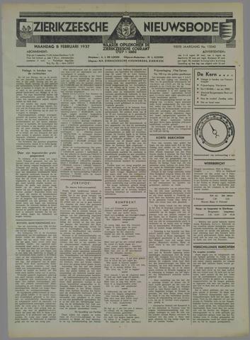 Zierikzeesche Nieuwsbode 1937-02-08