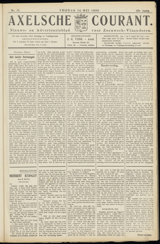 Axelsche Courant 1939-05-12