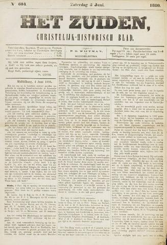 Het Zuiden, Christelijk-historisch blad 1880-06-05
