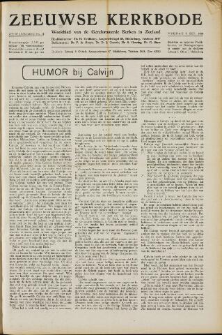 Zeeuwsche kerkbode, weekblad gewijd aan de belangen der gereformeerde kerken/ Zeeuwsch kerkblad 1950-10-06