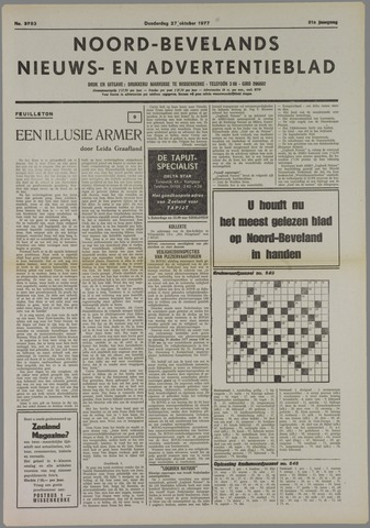 Noord-Bevelands Nieuws- en advertentieblad 1977-10-27