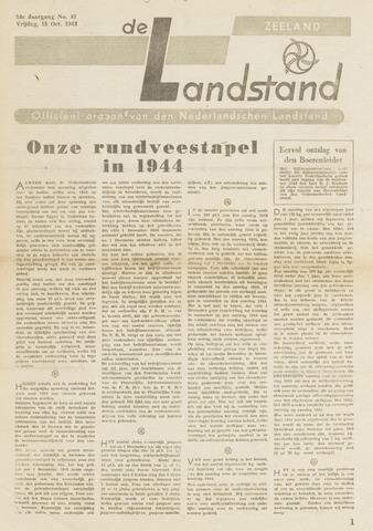De landstand in Zeeland, geïllustreerd weekblad. 1943-10-15