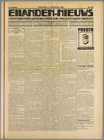 Eilanden-nieuws. Christelijk streekblad op gereformeerde grondslag 1936-08-12