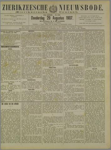 Zierikzeesche Nieuwsbode 1907-08-29