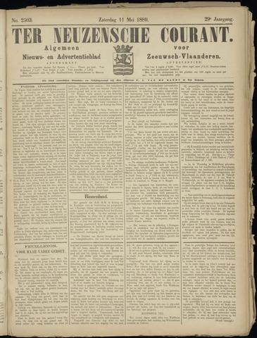 Ter Neuzensche Courant. Algemeen Nieuws- en Advertentieblad voor Zeeuwsch-Vlaanderen / Neuzensche Courant ... (idem) / (Algemeen) nieuws en advertentieblad voor Zeeuwsch-Vlaanderen 1889-05-11