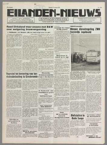 Eilanden-nieuws. Christelijk streekblad op gereformeerde grondslag 1979-08-28