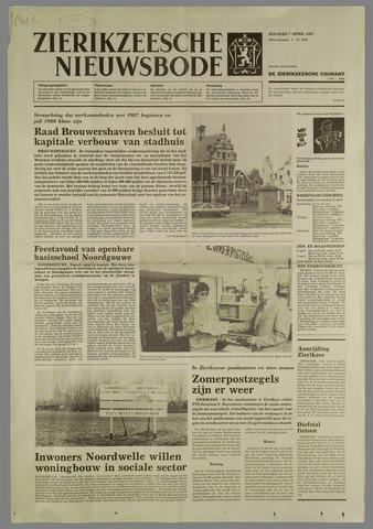 Zierikzeesche Nieuwsbode 1987-04-07
