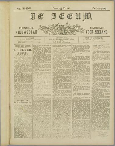 De Zeeuw. Christelijk-historisch nieuwsblad voor Zeeland 1901-07-16