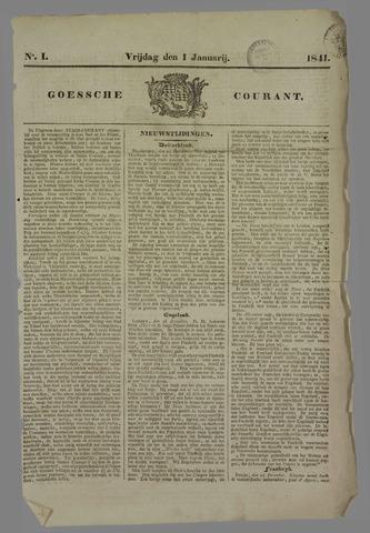 Goessche Courant 1841