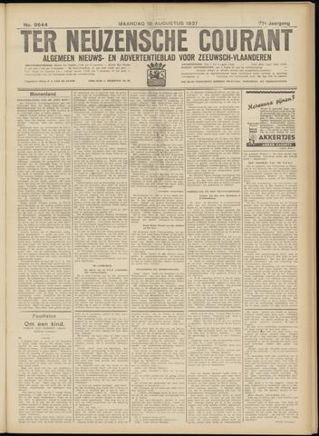 Ter Neuzensche Courant. Algemeen Nieuws- en Advertentieblad voor Zeeuwsch-Vlaanderen / Neuzensche Courant ... (idem) / (Algemeen) nieuws en advertentieblad voor Zeeuwsch-Vlaanderen 1937-08-16