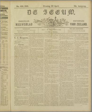 De Zeeuw. Christelijk-historisch nieuwsblad voor Zeeland 1901-04-30