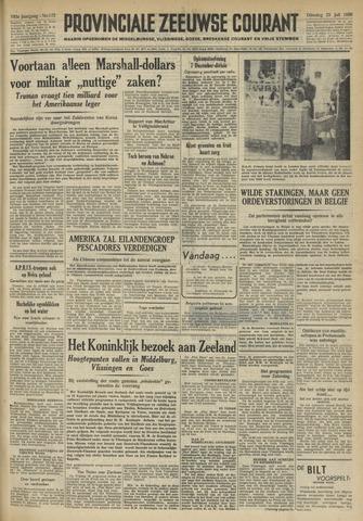 Provinciale Zeeuwse Courant 1950-07-25