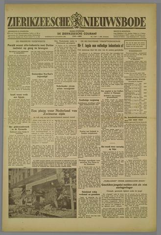 Zierikzeesche Nieuwsbode 1952-08-27