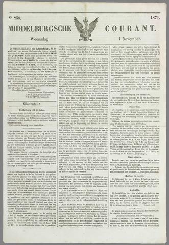 Middelburgsche Courant 1871-11-01
