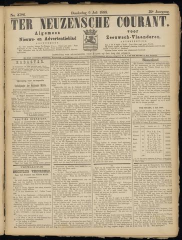 Ter Neuzensche Courant. Algemeen Nieuws- en Advertentieblad voor Zeeuwsch-Vlaanderen / Neuzensche Courant ... (idem) / (Algemeen) nieuws en advertentieblad voor Zeeuwsch-Vlaanderen 1899-07-06