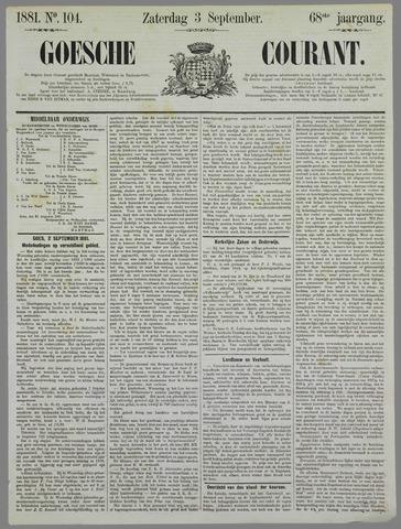 Goessche Courant 1881-09-03