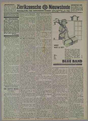 Zierikzeesche Nieuwsbode 1932-11-23