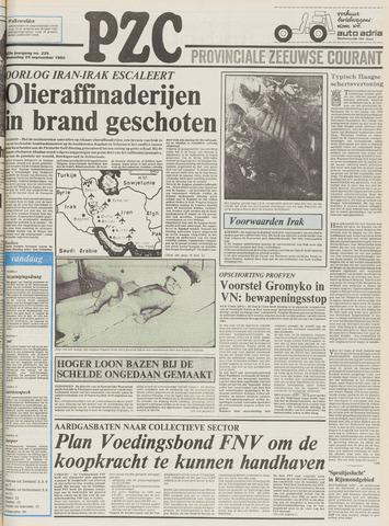 Provinciale Zeeuwse Courant 1980-09-24