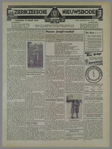 Zierikzeesche Nieuwsbode 1940-03-18
