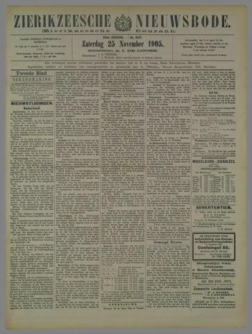 Zierikzeesche Nieuwsbode 1905-11-25