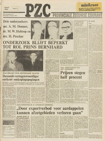 Provinciale Zeeuwse Courant 1976-02-11