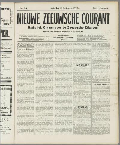 Nieuwe Zeeuwsche Courant 1905-09-30